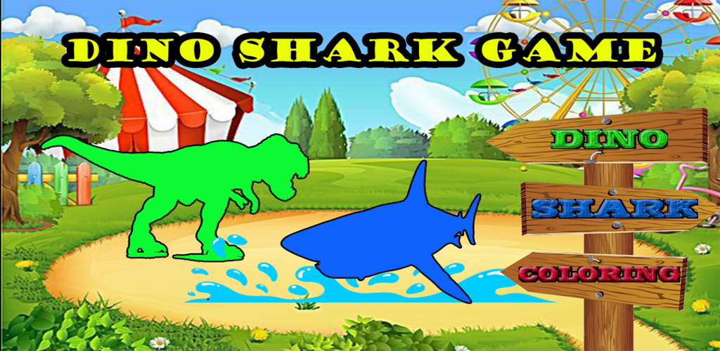 Dino Shark Game And Coloring Book For Kids 1 Apk Download
