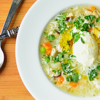 Grandma's Chicken Soup with Vegetables