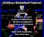 Old Boys BasketBall Festival : St Benedict's College Alumni