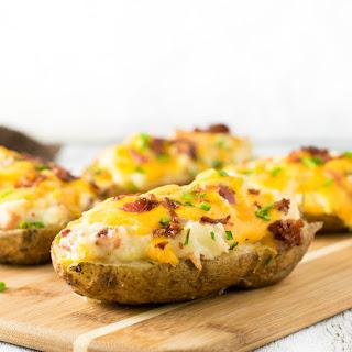Cheesy and Creamy Twice Baked Potatoes Recipe
