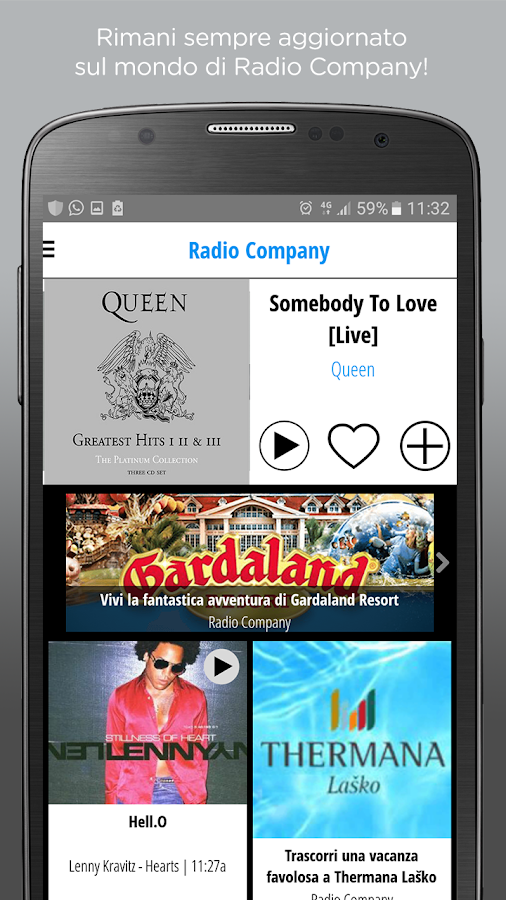 Radio Company- screenshot