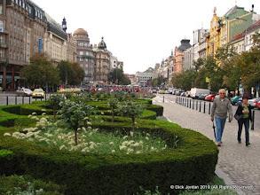 Photo: Wenceslas Square, Prague