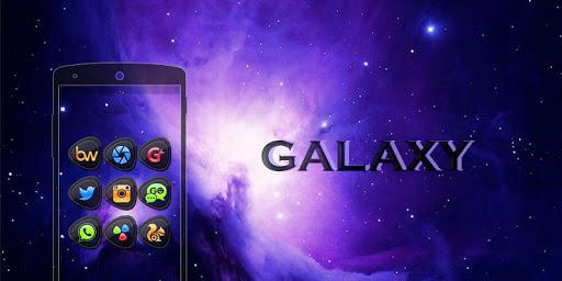 Galaxy - Solo Launcher Theme
