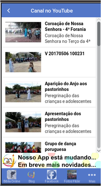 Catequese de Perseverança- screenshot