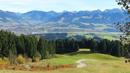 Ofterschwanger Horn Alpe Eck Naturpark Nagelfluhkette Allgäu