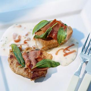 Kalbsschnitzel Alla Saltimbocca