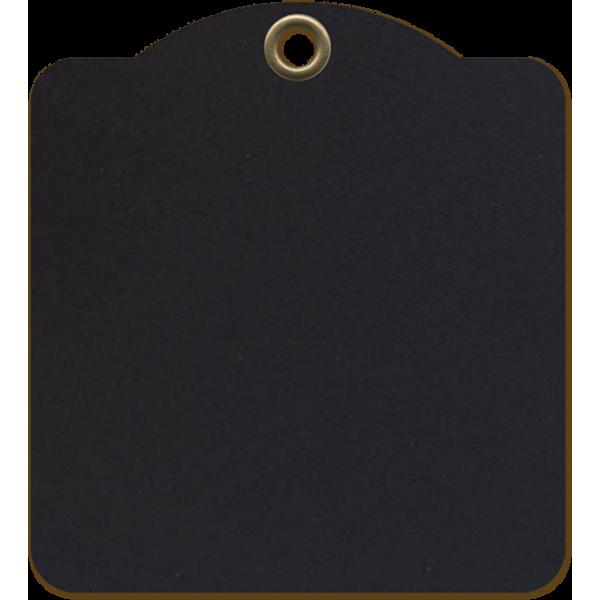 Square Tags—Black