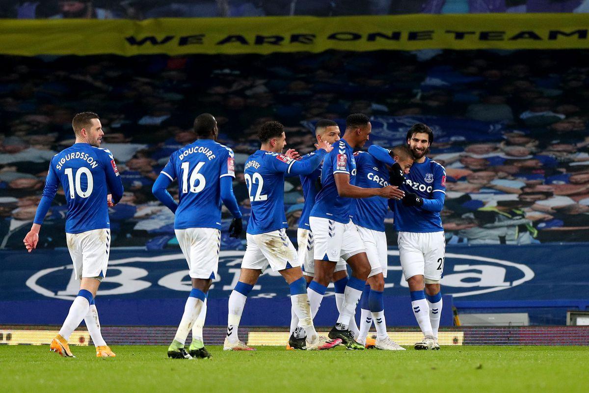 Everton đang có lại niềm vui chiến thắng
