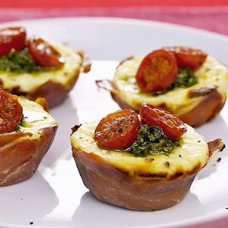 Tomato and Pesto Tarts