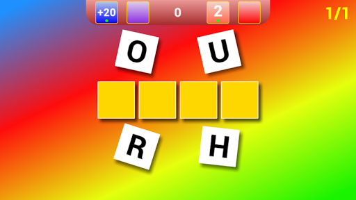 Guess The Word +