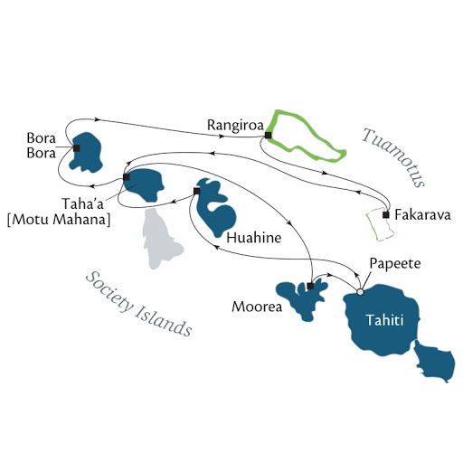 11-day Tahiti & Society Islands cruise.