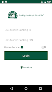 JSB Mobile Banking- screenshot thumbnail