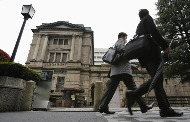 The Bank of Japan. Picture: REUTERS