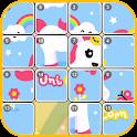 Unicorn Rainbow Pony Puzzle icon
