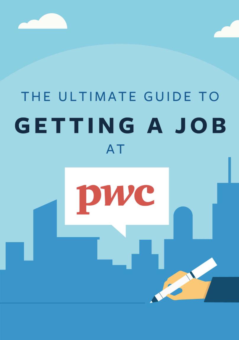PwC Interview Guide Book Cover