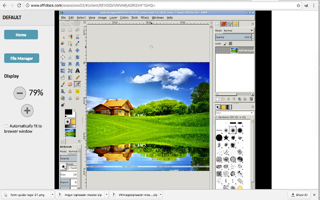 Gimp online - image editor and paint tool