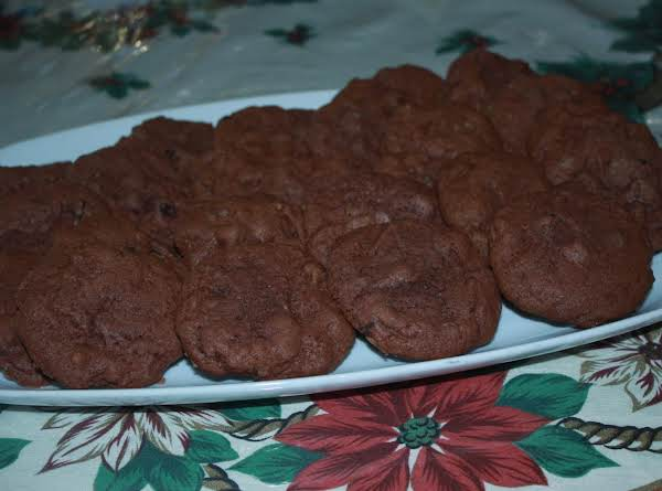 Melt In Your Mouth Double Chocolate Chip Cookies