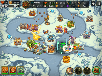 Empire Warriors TD: Tower Defense Games Screenshot