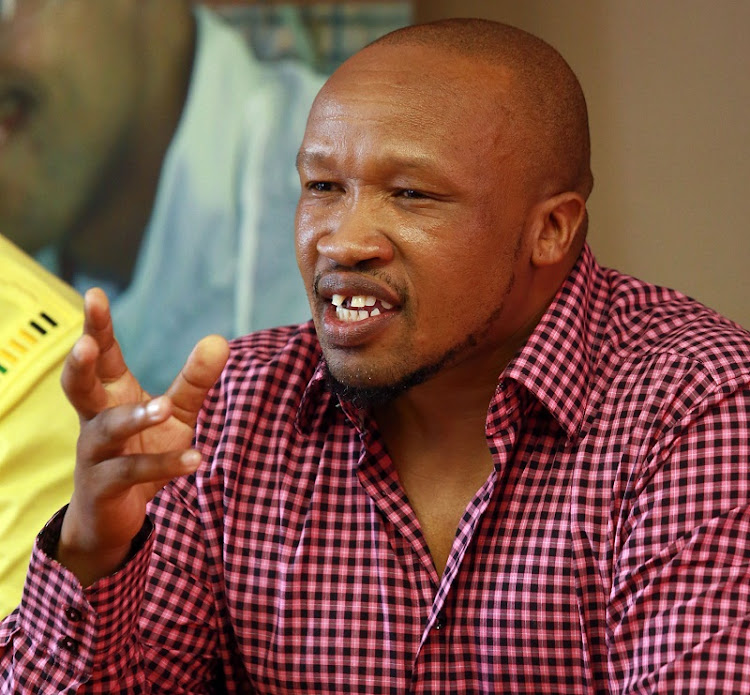 National Union of Metalworkers of South Africa (Numsa) general secretary Irvin Jim. Picture:RAJESH JANTILAL