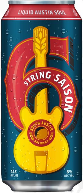 Logo of South Austin Brewery 6 String Saison