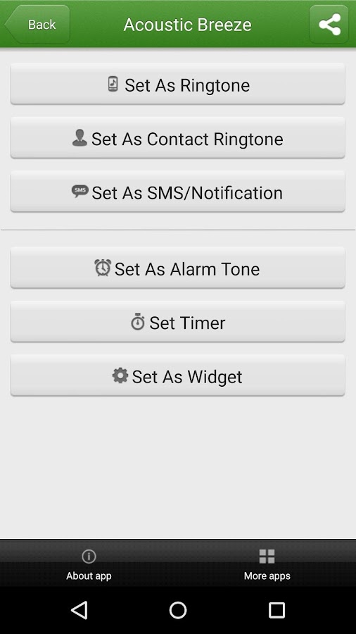 Free Ringtones for Android™- screenshot