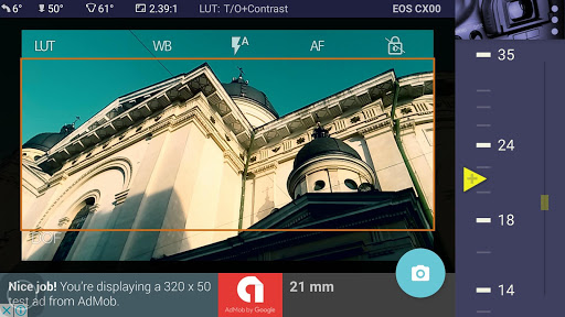Magic Canon ViewFinder Free 3.8.2 screenshots 1