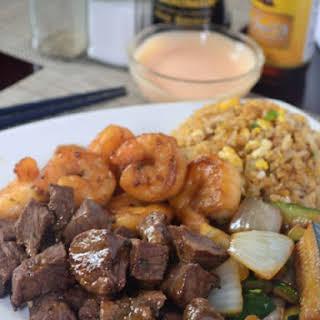 Hibachi Dinner at Home.