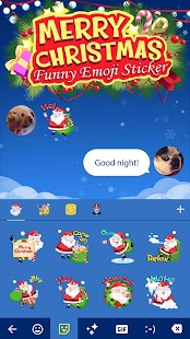 Funny Cute Christmas Santa Claus GIFs Sticker - náhled