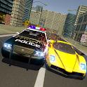 Police Crime Car Chase  - Thief Robot Escape Plan icon
