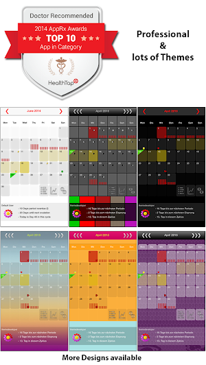 2 MyDays X - Period & Ovulation™ App screenshot