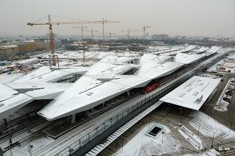 Photo: der neue hauptbahnhof von wien