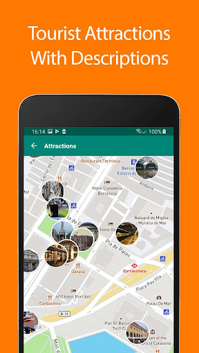 Download Barcelona Offline Map and Travel Guide 1.35 1