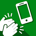Find my phone clap - mobile gadget finder tool icon