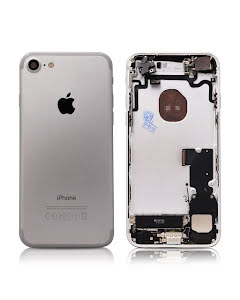 iPhone 7G Housing with small parts Original Pulled Silver
