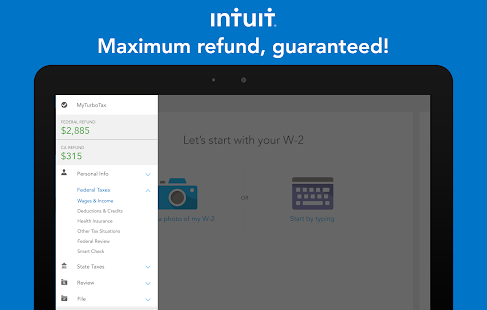 TurboTax Tax Return App- screenshot thumbnail