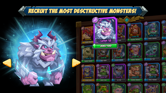 Tactical Monsters Rumble Arena - Tactic & Strategy- screenshot thumbnail