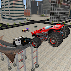 Chaude police de Monster Truck City Chase icon