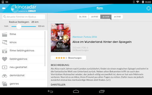 kinoradar - Kino, Filme & mehr 3.2.2 screenshots 19