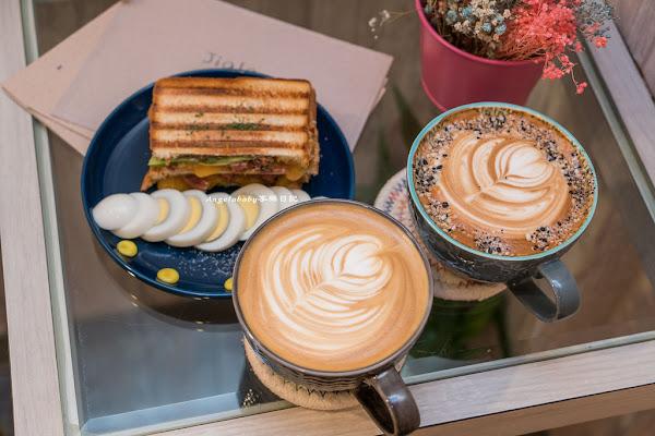 中山國中站平價好咖啡 Jiala Coffee加辣咖啡 超好吃熱壓吐司 早午餐 五常街美食 榮星花園