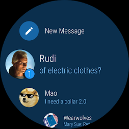 Telegram APK screenshot thumbnail 1