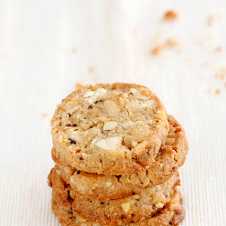 Coffee White Chocolate Chip Cookies with Cashews Recipe