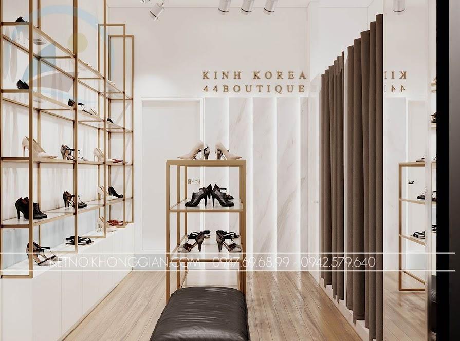 kệ trưng bày giày cho shop