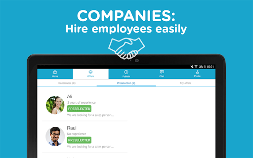 CornerJob - Get a Job in 24H screenshot 09