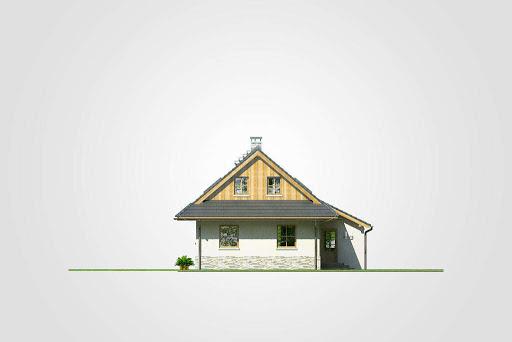 Dom Bacy - Elewacja lewa
