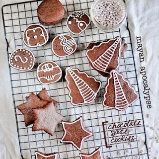 Mayan Apocalypse Chocolate Spice Cookies