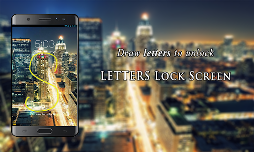 Letters Lock Screen Screenshots