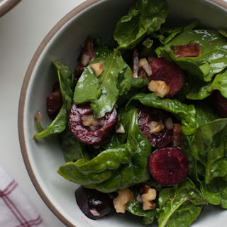 Cherry Spinach Salad