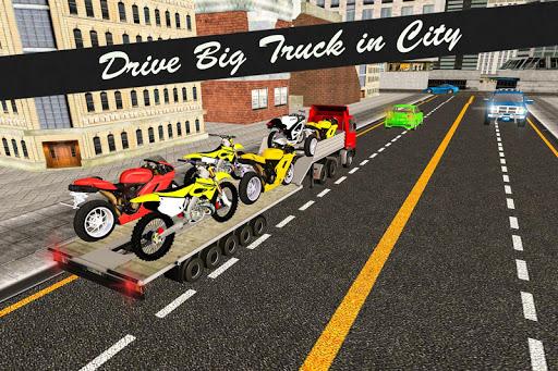 Bike Transport Truck 3D 15.3.4 de.gamequotes.net 2