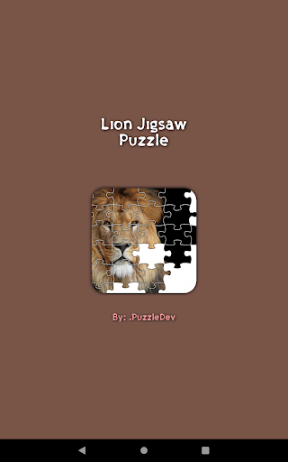 Lion Game Jigsaw Puzzle  screenshots 11