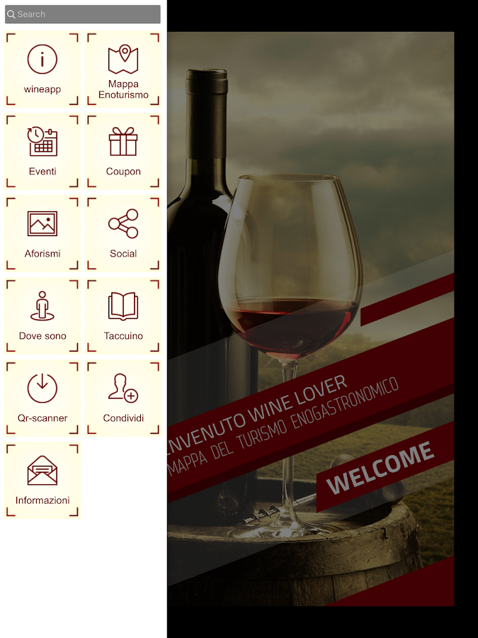 Wine App- screenshot